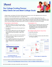 Preview Image for IAdvisor 529 College Funding Planner.pdf