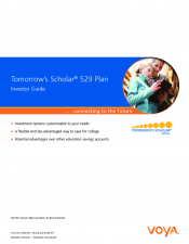 Preview Image for Tomorrow's Scholar 529 Investor Guide.pdf