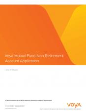 Preview Image for Voya Account Application for I W 2016 v1.pdf