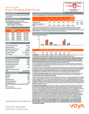 Preview Image for Voya Floating Rate Fund Fact Sheet - Class I.pdf