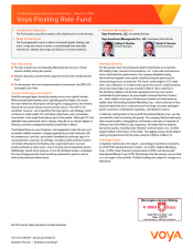 Preview Image for Voya Floating Rate Fund Quarterly Commentary.pdf