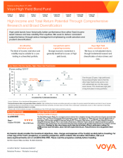 Preview Image for Voya High Yield Bond Fund Fact Sheet.pdf