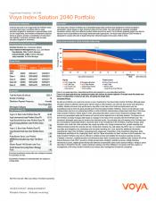 Preview Image for Voya Index Solution 2040 Portfolio Fact Sheet - Class Z.pdf