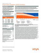 Preview Image for Voya Index Solution 2045 Portfolio Fact Sheet - Class Z.pdf