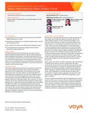 Preview Image for Voya International Real Estate Fund Quarterly Commentary.pdf