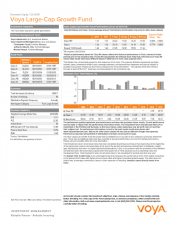 Preview Image for Voya Large-Cap Growth Fund Fact Sheet - Class R6.pdf
