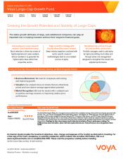 Preview Image for Voya Large-Cap Growth Fund Fact Sheet.pdf