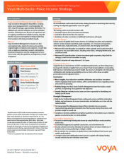 Preview Image for Voya Multi-Sector Fixed Income Strategy.pdf