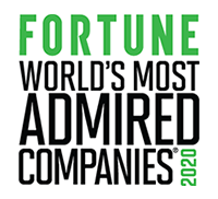 World's Most Admired Company Award